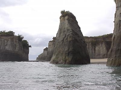 Cape Foulwind cliffs